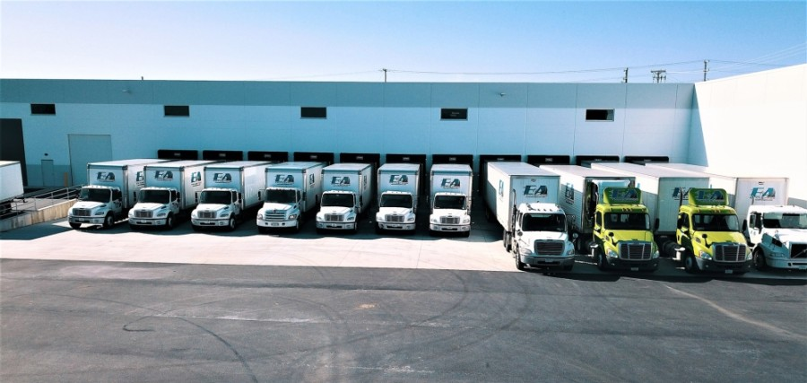 E&A Transpro Inc. is an Illinois-based logistics company. They are relocating to a new location in Grapevine. (Courtesy E&A TransPros Inc. website)