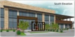 This is an artist's rendering of the GMi Headquarters on 2450 Crooked Lane. (Courtesy ClayMoore Engineering)