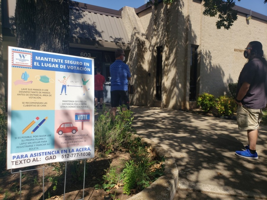 Here is everything you need to know about voting early. (Ali Linan/Community Impact Newspaper)