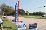 Galveston County is seeing strong early voter turnout. (Colleen Ferguson/Community Impact Newspaper)