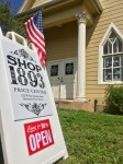 Shop 1893, a retail shop that sells original art, small furniture, architectural salvage, home decorating items and more, has opened with the Price Center & Garden's historic 1893 Chapel. (Courtesy Price Center)