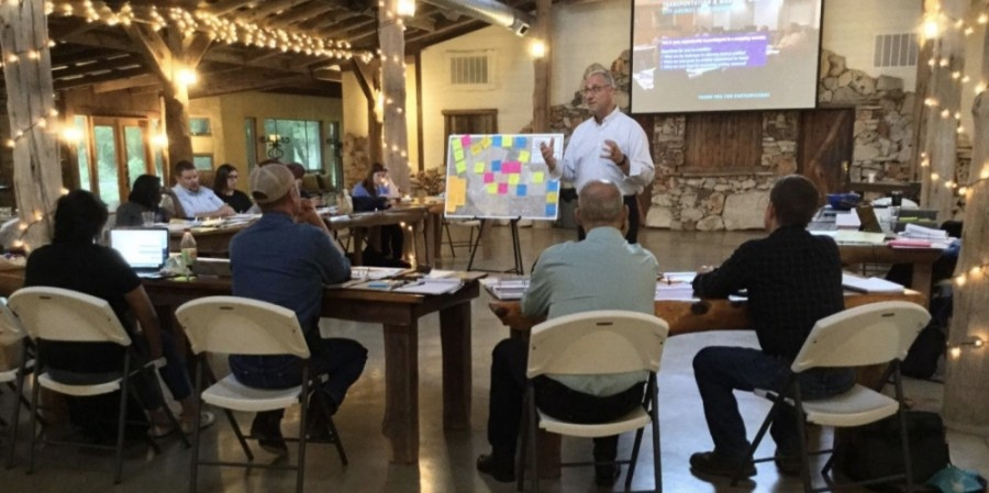 The TMMP project team conducted a workshop with Buda City Council on May 14, 2019 to discuss relevant transportation issues at the onset of the plan's development. (Courtesy city of Buda)