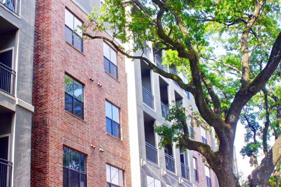 apartment building exterior