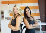Sara Dillard and Adriana Marshall are new owners of the Rush Cycle location in Woodforest. (Courtesy Rush Cycle-Woodforest)