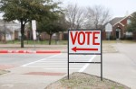 Dallas Area Rapid Transit began offering a free shuttle service for voters traveling to the Dallas County Election Department on Oct. 19. (Liesbeth Powers/Community Impact Newspaper)