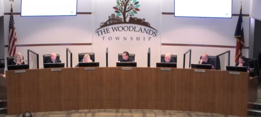 The Woodlands Township board of directors heard the results of a study on several township fire stations at its Oct. 22 meeting. (Screenshot via The Woodlands Township)