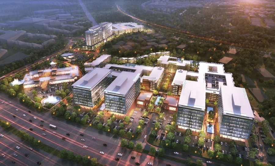 Frisco recently approved new incentive agreements and a master development agreement for The Gate development. (Rendering courtesy Invest Group Overseas)