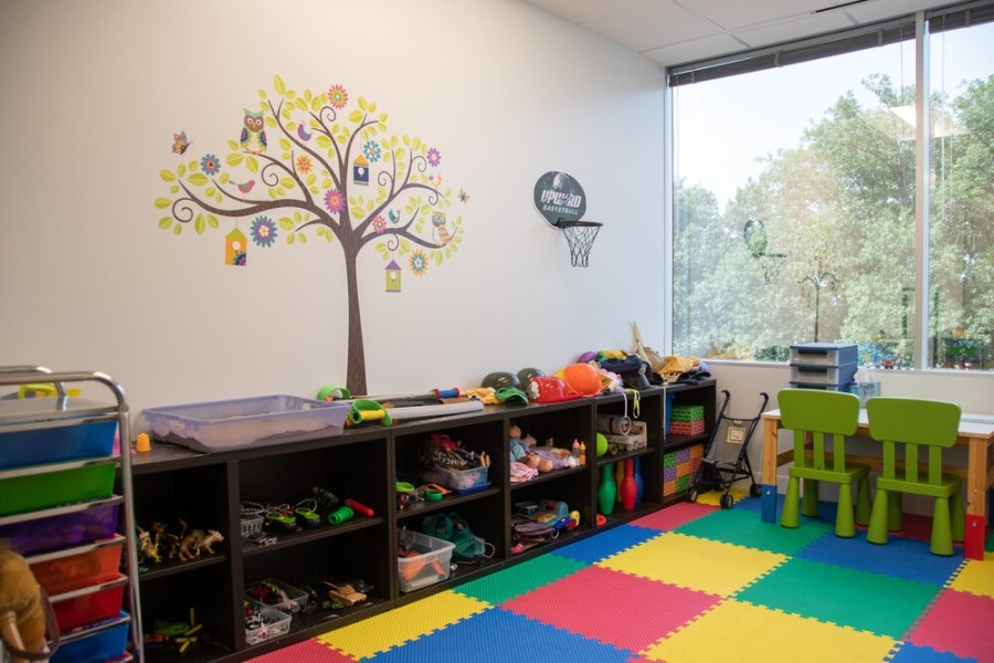 The new office includes a play therapy space and therapy rooms for adults and teens. (Courtesy Nova Cesta Counseling)