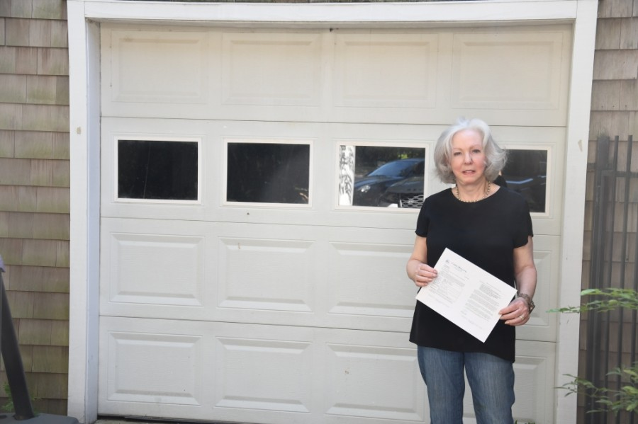 Joanne Brodsky has continued to open up her two-car garage as a polling place for nearly 40 years. (Hunter Marrow/Community Impact Newspaper)