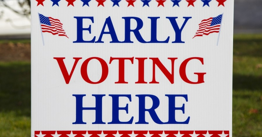 Early voting turnout among registered county voters passed 57% Oct. 28. (Community Impact staff)