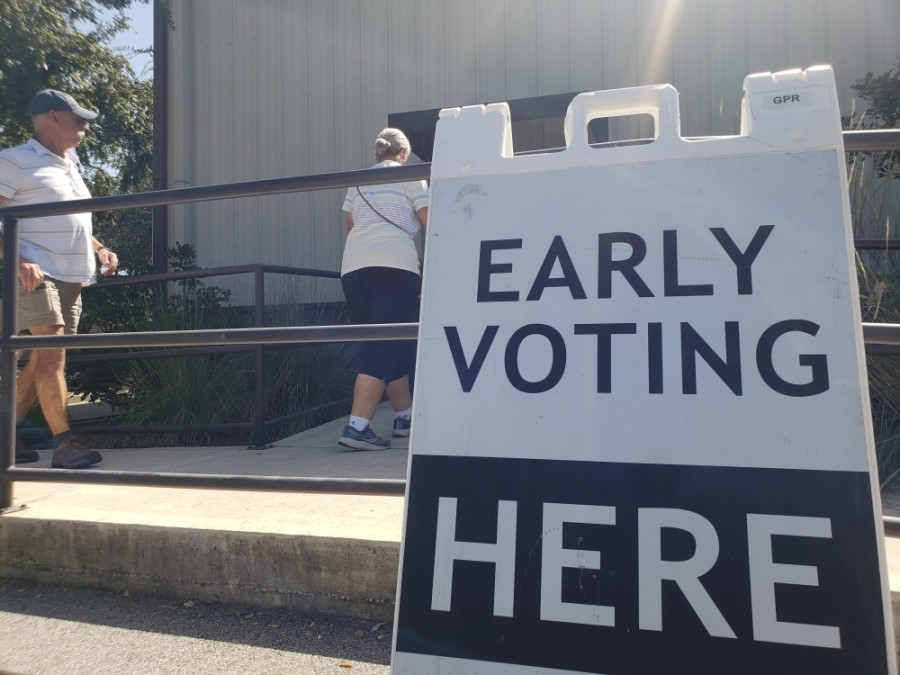 More than half of Williamson County eligible voters have already cast their ballot ahead of the November election. (Ali Linan/Community Impact Newspaper)