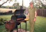 Woody Berry Jr. learned to smoke meats from his father, Woody Berry Sr., who was a grillmaster in his downtime. (Courtesy Woody B's BBQ)