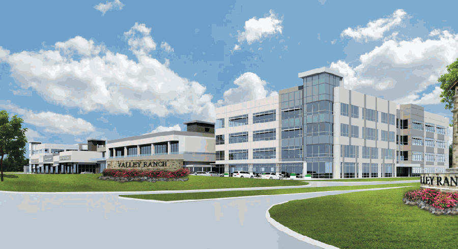The Valley Ranch Medical District will be home to a hospital and medical offices that will serve the community. (Courtesy Signorelli Co.)