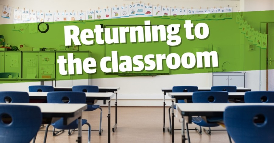 More students have opted to attend school in person as the year has progressed. (Community Impact staff)