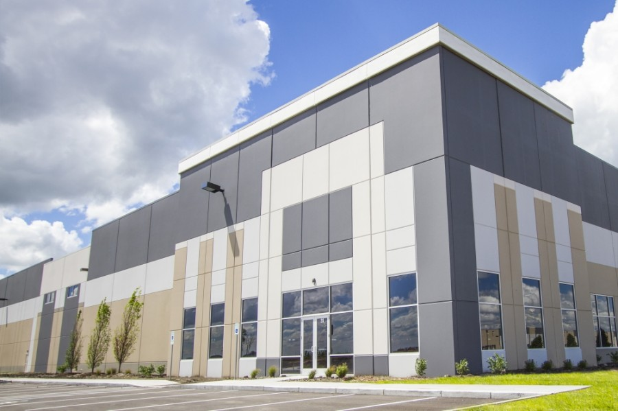A 76-acre industrial park located at 19200 Marketplace Ave., Kyle, is scheduled to start opening its first phase of development in spring 2021, according to information from its development company, Northpoint Development. (Courtesy Colliers International)