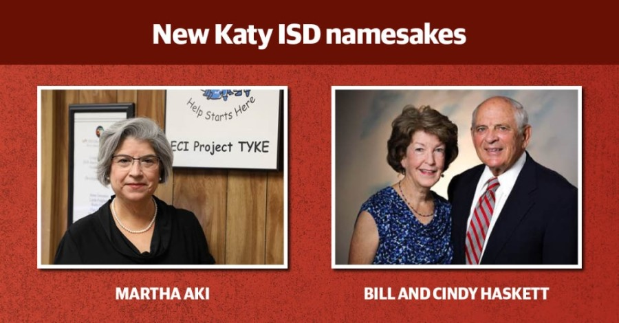 A new junior high and the former L. D. Robinson Pavilion in Katy ISD are set to be named after three past and present district educators. (Community Impact staff)