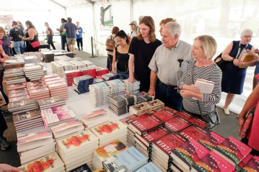 The Texas Book Festiva will take place virtually this year.l (Courtesy Bob Daemmrich Photography)