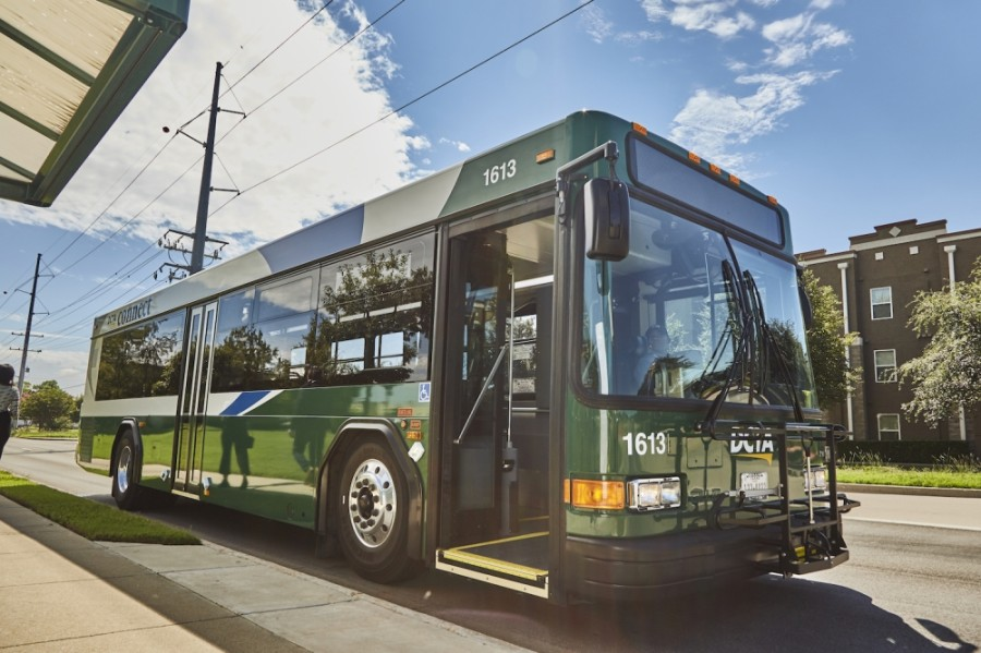 The Denton County Transportation Authority will offer free rides on Nov. 3 on select services. (Courtesy Denton County Transportation Authority)