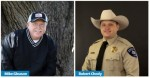 Williamson County Sheriff Robert Chody and opponent Mike Gleason will appear on the Nov. 3 ballot. (Community Impact staff)