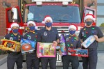 Crew members from Chandler Fire Station No. 1 are ready for the annual Holiday toy Drive, which is scheduled for Dec. 5 from 2-8 p.m. at the Chandler Fashion Center. (Courtesy city of Chandler)