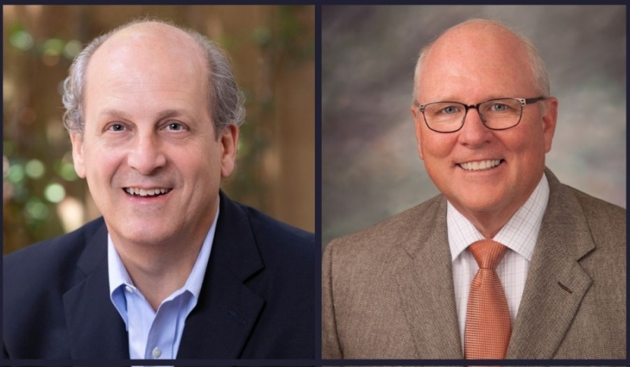 Michael Moore (left) and Tom Ramsey are the two candidates running for Harris County Precinct 3 c ommissioner this November.