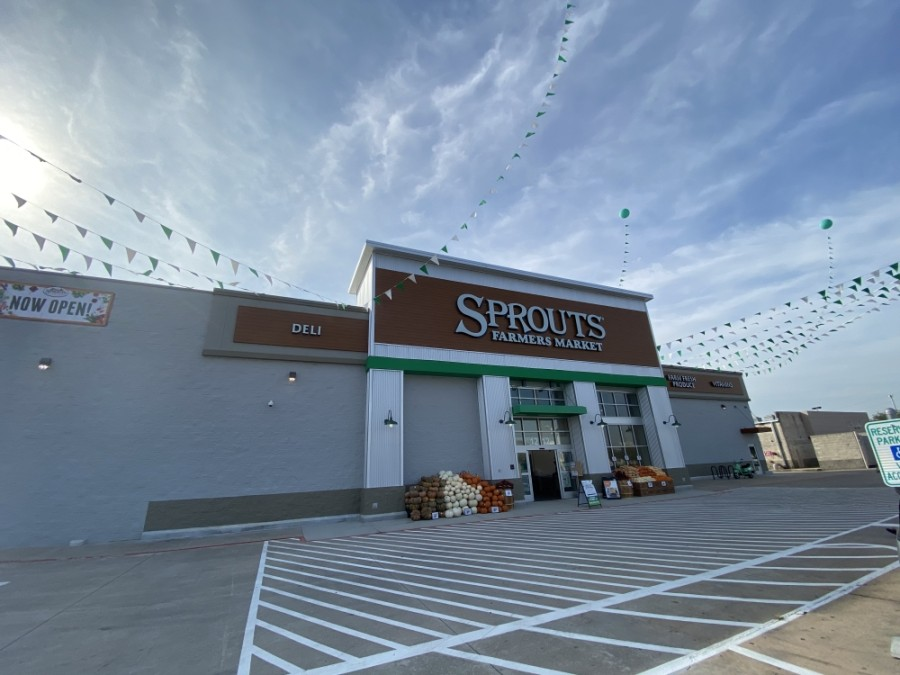 Bellaire, Meyerland, and West University Place continued to see business activity throughout October. Pictured above is a newly opened Sprouts Farmers Market. (Hunter Marrow/Community Impact Newspaper)