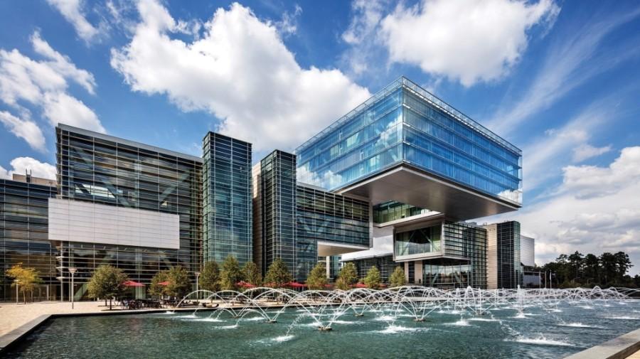 ExxonMobil's Houston campus opened in Springwoods Village in 2014. (Courtesy ExxonMobil)