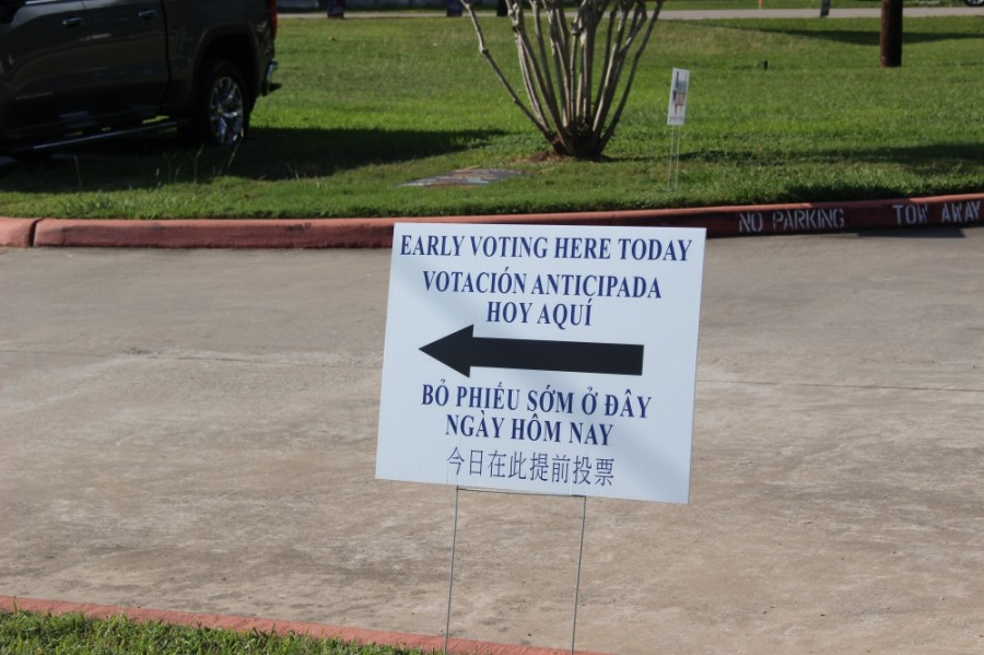 Early voting runs through Oct. 30. Election Day is Nov. 3. (Adriana Rezal/Community Impact Newspaper)