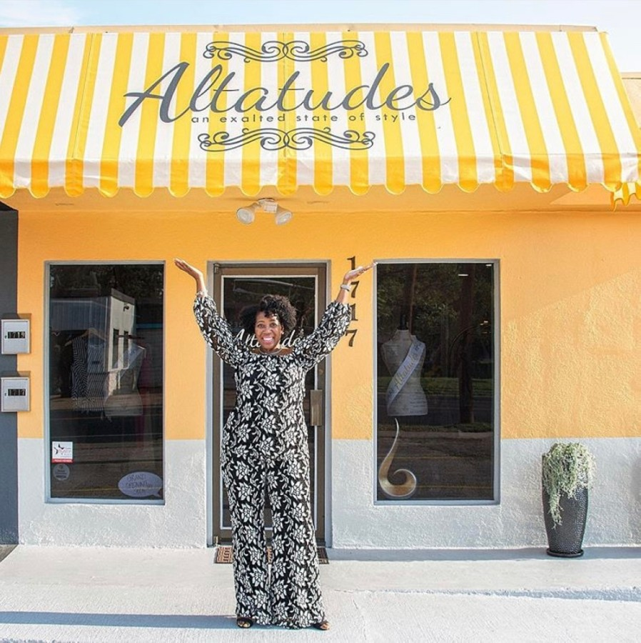 Altatudes owner Alta Alexander opened the fashion boutique in 2017. (Courtesy Altatudes)
