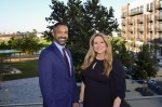 Mark Mitchell and Jenna Armstrong will continue to serve as leaders of Partnership Lake Houston, a new entity. (Courtesy Partnership Lake Houston)