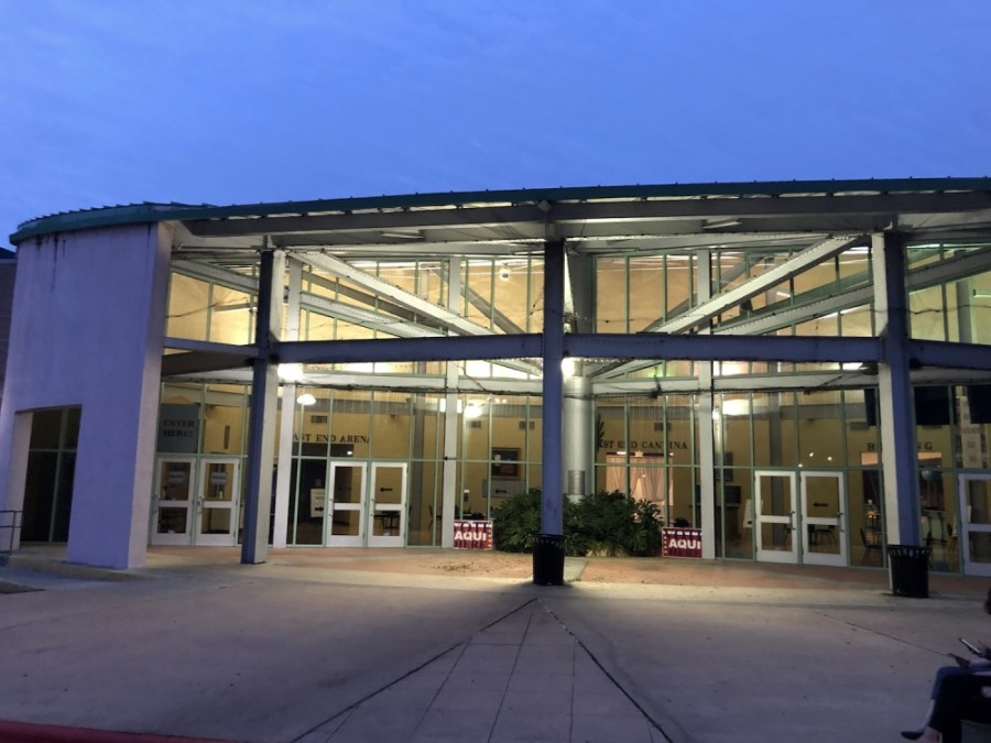 The Millennium Youth Entertainment Complex in East Austin is one of 178 Election Day voting locations open in Travis County. (Jack Flagler/Community Impact Newspaper)