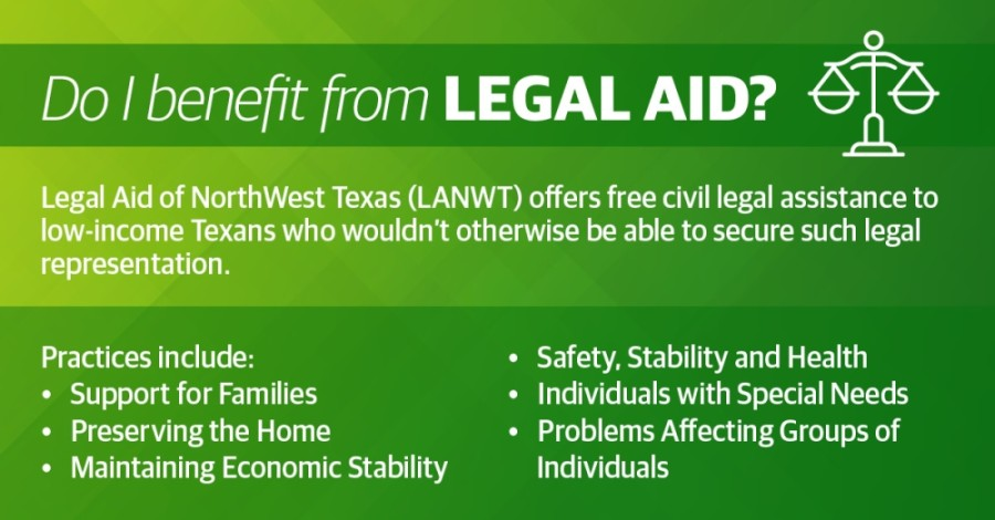 The Legal Aid of NorthWest Texas offers assistance to low-income residents in 114 counties in North and West Texas, including Collin, Denton, Tarrant and Dallas counties. (Chase Autin/Community Impact Newspaper)