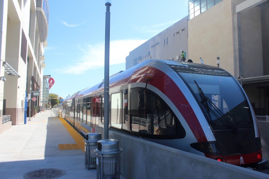 The plan includes two new light rail lines and a downtown tunnel separating trains from street level. (Jack Flagler/Community Impact Newspaper)
