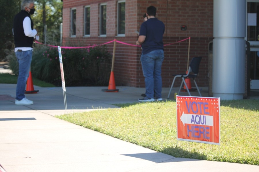 Voting was held at several locations throughout Montgomery County. (Andy Li/Community Impact Newspaper)