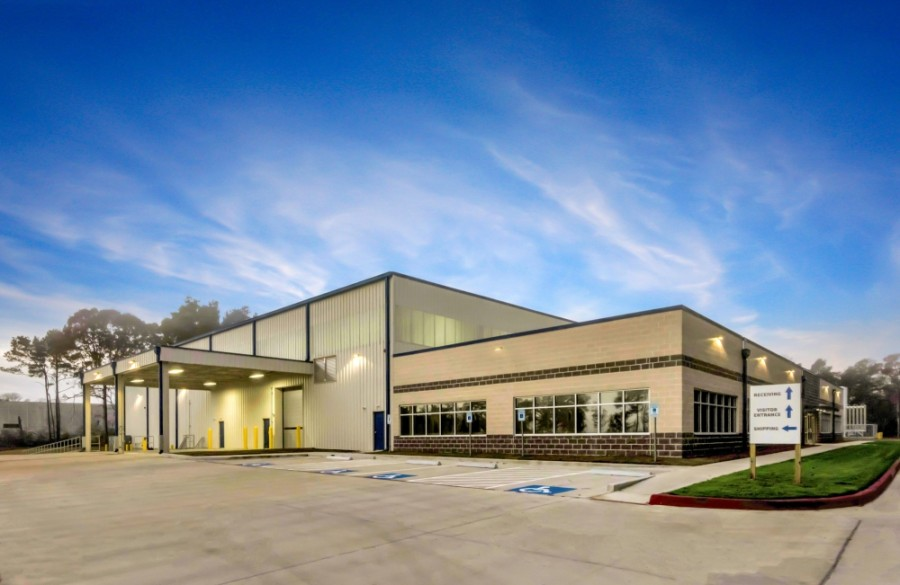 LaserWeld purchased a manufacturing facility in Conroe Park North and will have the capacity to expand in the future. (Courtesy Archway Properties)