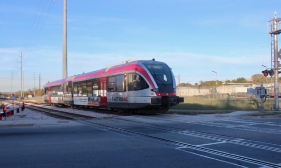 Capital Metro Red Line train