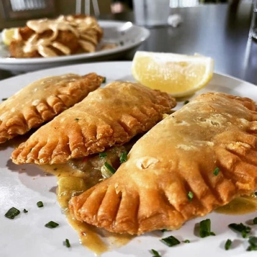 Magnolia Cajun Comfort serves Cajun and Cajun-inspired dishes, including crawfish pies. (Courtesy Magnolia Cajun Comfort)
