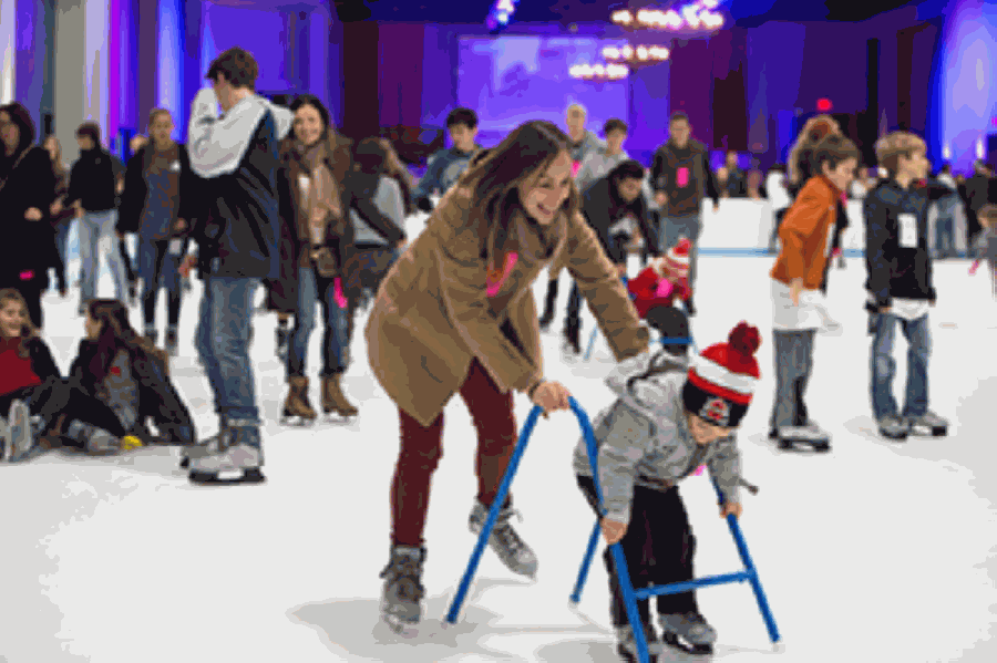 Nov. 20 kicks off skating season at The Woodlands Town Center. (Courtesy The Woodlands Township)