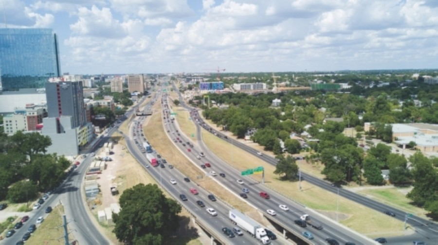 The Texas Department of Transportation is gathering public feedback and going through environmental review as it prepares to start work on a $4.9 billion project to add lanes to I-35 through downtown Austin. (Community Impact staff)