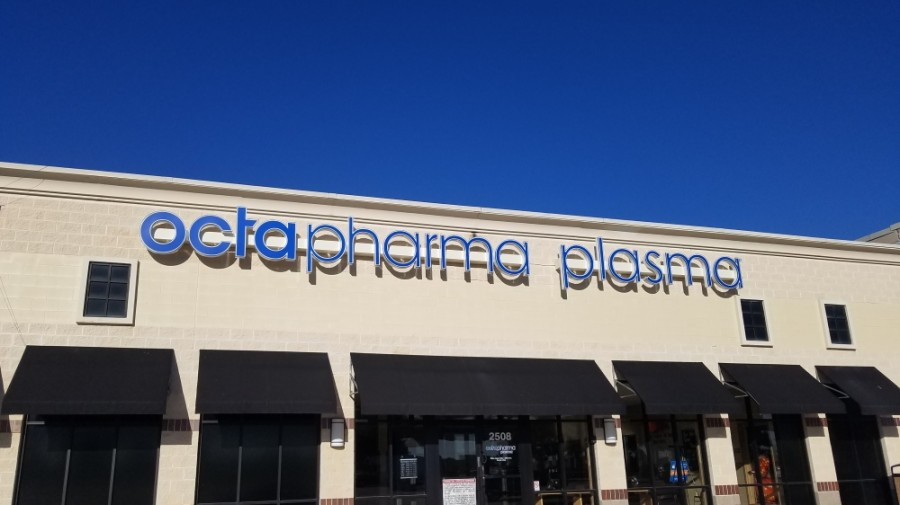 Octapharma Plasma is now open in Lewisville. (Community Impact staff)