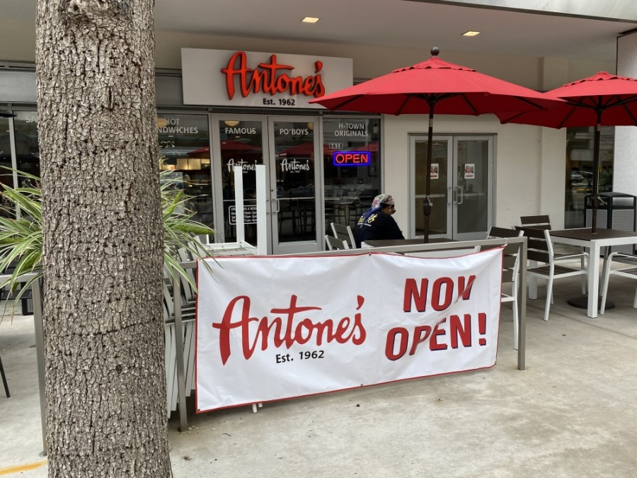 Antone's Famous Po' Boys has reopened at Texas Medical Center. (Hunter Marrow/Community Impact Newspaper)