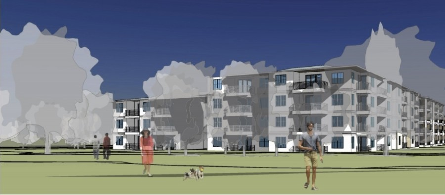 Dripping Springs City Council approved a planned development district ordinance for a multifamily project May 12. (Rendering courtesy city of Dripping Springs)