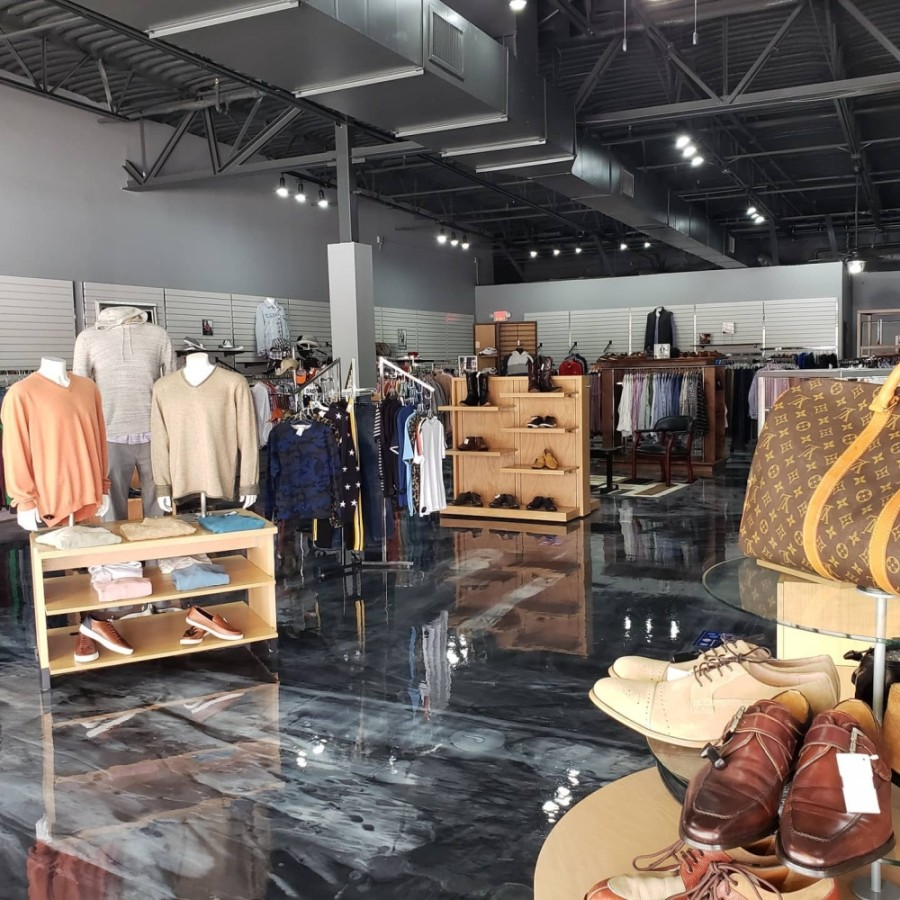 The family-owned store features men's luxury goods for up to 75% off retail prices. (Courtesy Protocol)