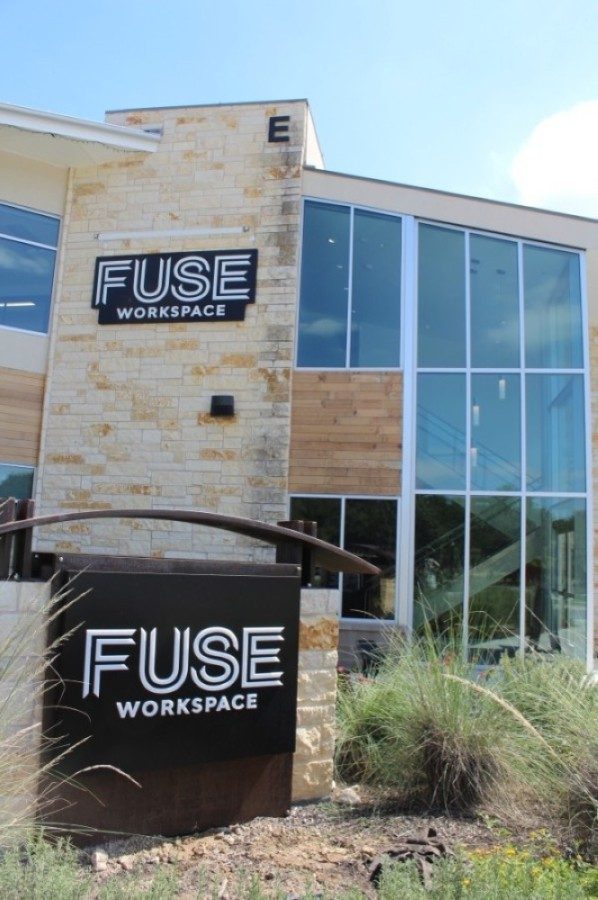 FUSE Workspace is a 30,000-square-foot coworking facility that opened Oct. 1. (Brian Perdue/Community Impact Newspaper)