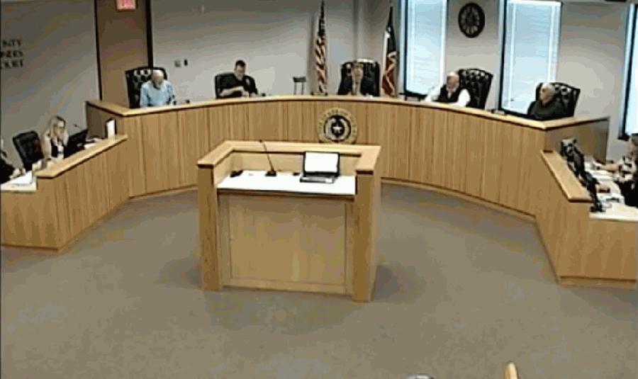 The Montgomery County Commissioners met in a regular meeting Nov. 10. (Courtesy Montgomery County live video stream)