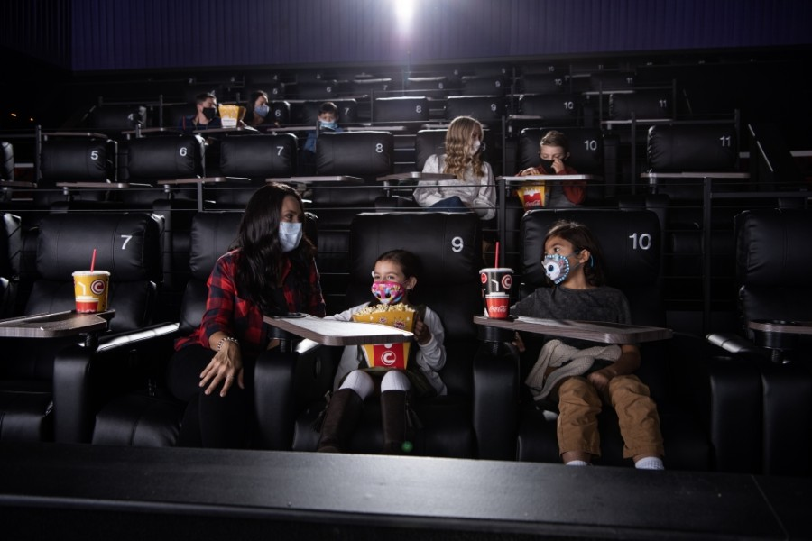 CUT! by Cinemark Cypress opens Nov. 12. (Courtesy Cinemark)