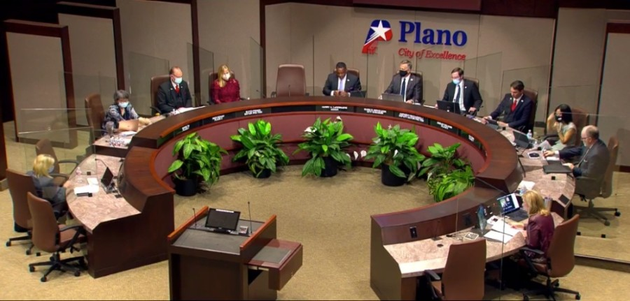 A rezoning request that would have allowed for renovations and additions at an apartment complex in Plano was denied by City Council at a Nov. 9 meeting. (Courtesy city of Plano)