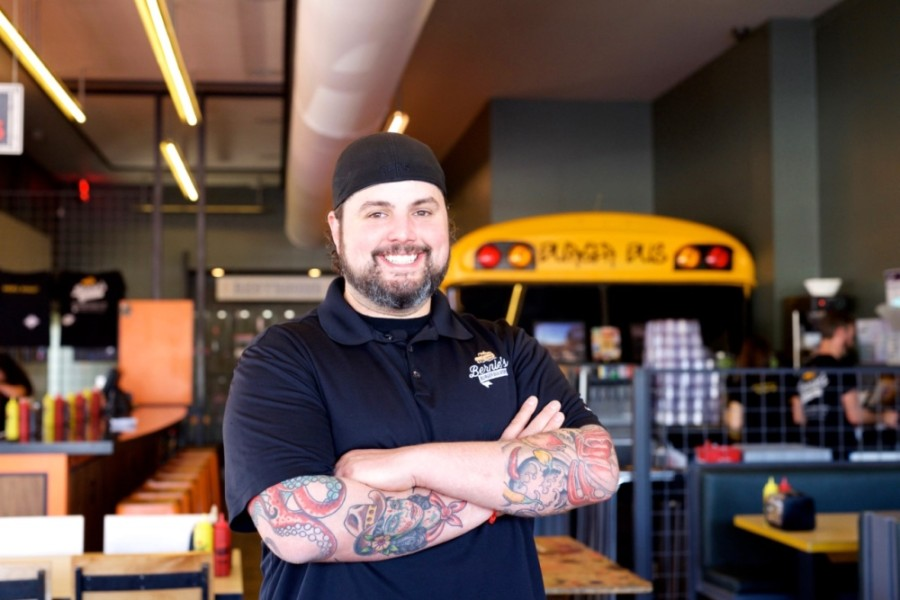 Former Bernie's Burger Bus owner Justin Turner has joined Gastropub Productions, McCord Development's new hospitality group, as the director of culinary hospitality. He will bring new restaurant concepts to Generation Park. (Courtesy Kimberly Park)