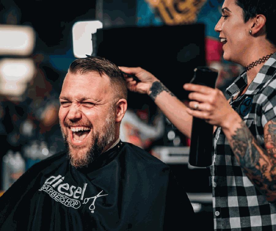 Diesel Barbershop is expected to open this spring. (Courtesy Diesel Barbershop)