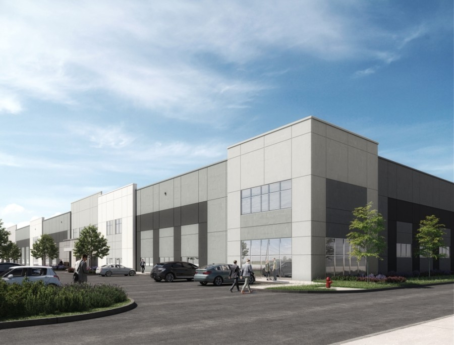 Georgetown's first master-planned industrial business park, the 146-acre NorthPark35, at I-35 and SH 130 broke ground Nov. 11. (Courtesy Titan Development)